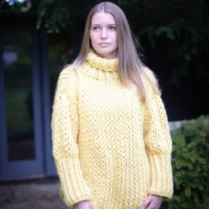 Chalk Yellow Chunky Jumper