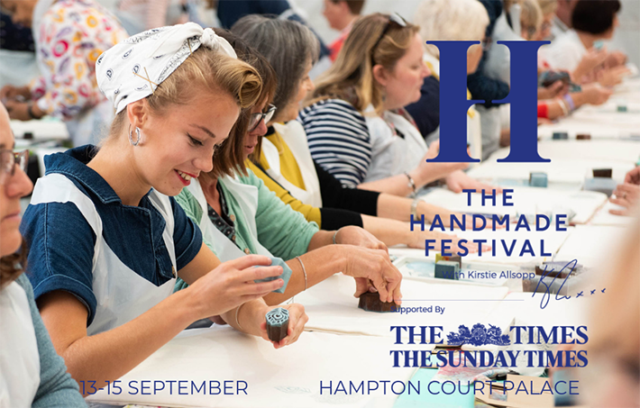 The Handmade Festival Hampton Court workshop